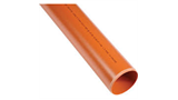 110mm Underground pipe 6mtr collared UG462