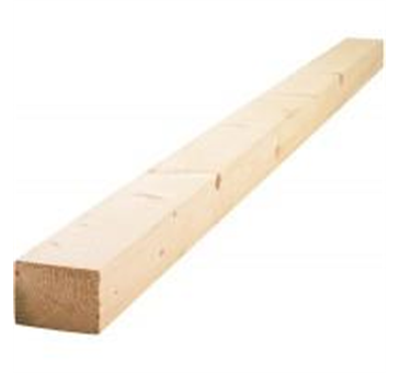 50mm x 47mm - 2x2 C16/C24 Timber @ 4.8m