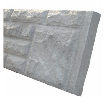 Concrete Rock faced panel 6ft x 1ft