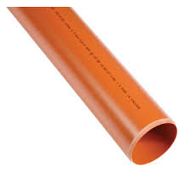 UG462 110mm UG Pipe 6mtr Collared